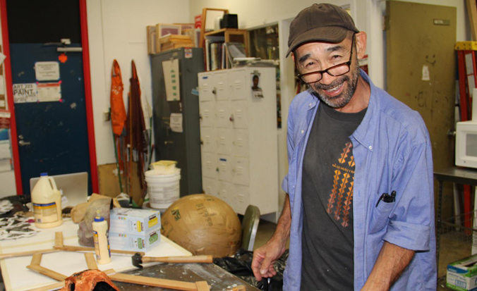 Unmasking A Leeward Community College Artist