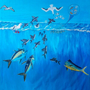 Sea life art adorns walls of Mānoa science building