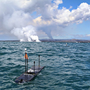 Seafaring robots help UH Hilo researchers study lava entering ocean