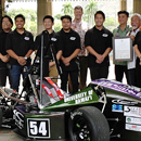 Rainbow Warrior Racing team tops in international competition