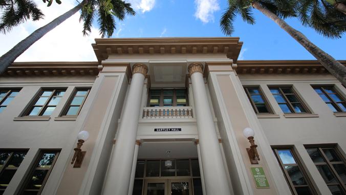 Gartley Hall building