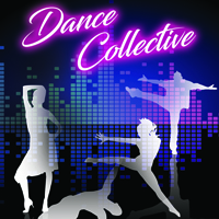 poster of silhouettes dancing