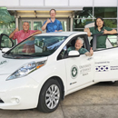 Electric vehicle donation boosts medical school's homeless outreach