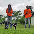 UH Hilo researchers use drones to aid lava monitoring