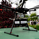 Latest tech on display at UH drone demo