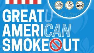 Great American Smokeout graphic