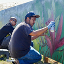 Local artists' scenic mural brightens UH Mānoa parking structure