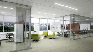 render of Sinclair Library meeting rooms