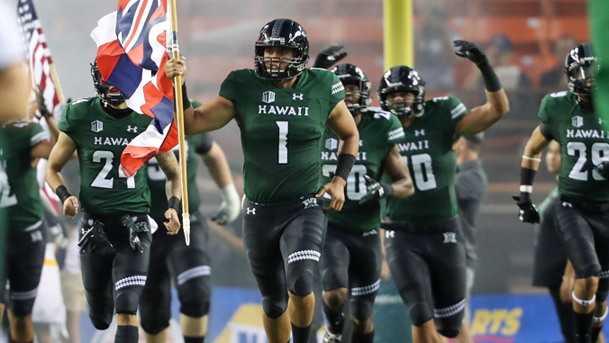 2019 Uh Warrior Football Schedule Announced University Of HawaiÊ»i System News