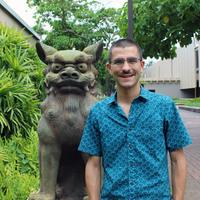 Graduate student takes top honors in Okinawa Essay Contest