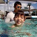 UH  Mānoa autism program a swimming success