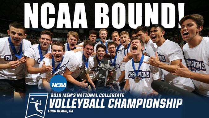 volleyball team win big west