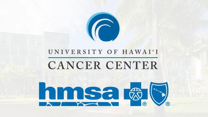 UH Cancer Center and HMSA logos