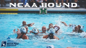 Wahine water polo players in the pool