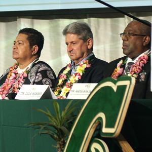 UH, other island universities, pledge commitment to sustainability
