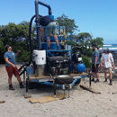 UH Hilo analyzes data from machine designed to remove beach microplastics