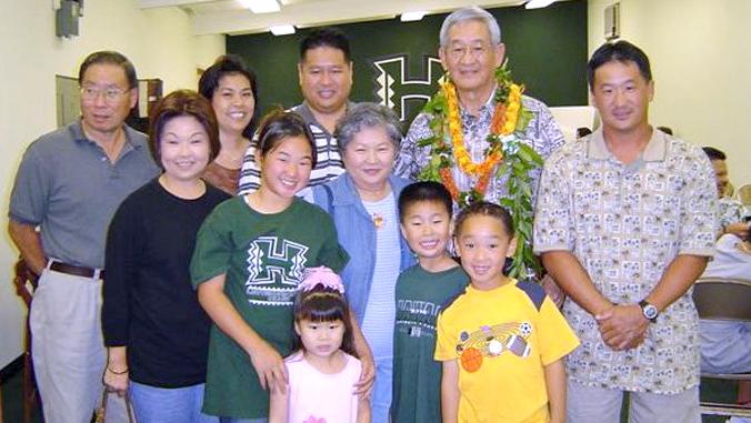 Araki family photo