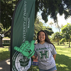 Kaiser student wins UH Mānoa tuition in #MakeManoaYours contest