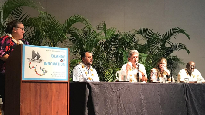 panel at islands of innovation gathering