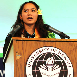 Hawaiian immersion high school students earn degrees at Windward CC