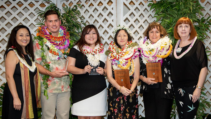 2019 Hall of Fame and Outstanding Young Alumni Award Recipients