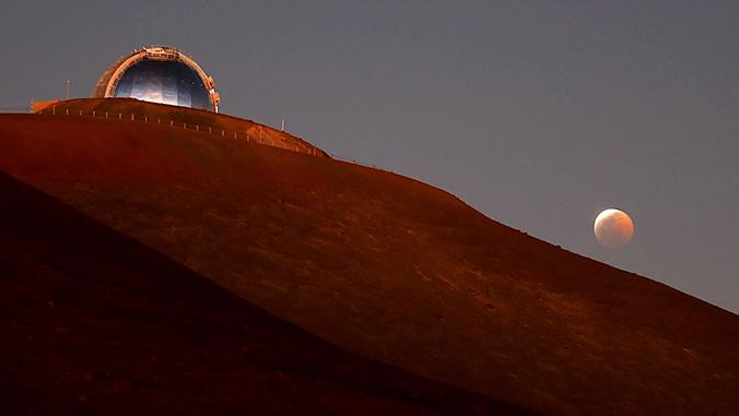 Telescope on Maunakea
