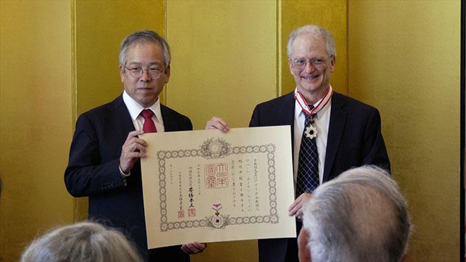 professor receives award