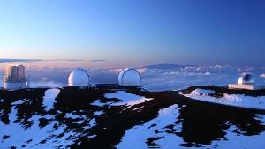 telescopes on Maunakea