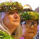Hawaiian ceremony welcomes new UH Hilo chancellor