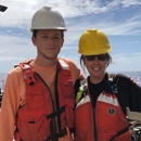 Summer interns investigate unsampled volcanic rift zone