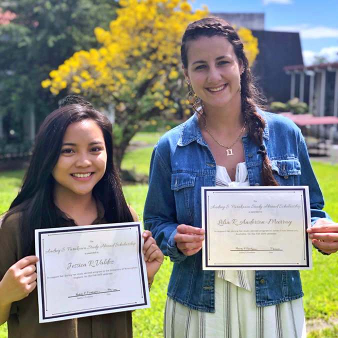2 UH Hilo students begin global adventure with study abroad scholarships