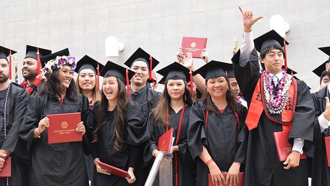 West Oahu graduates
