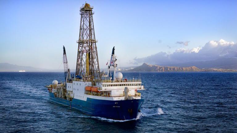 ship off Oahu