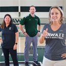 UH coaches tackle domestic violence