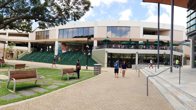 Campus Center exterior