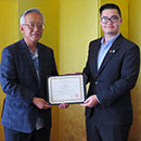 Japanese language student awarded prestigious scholarship