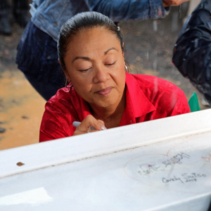 Community celebrates final beam for UH West Oʻahu Creative Media facility