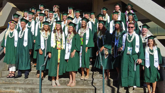 group photo of graduates