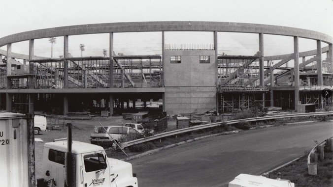 Stan Sheriff Center being constructed