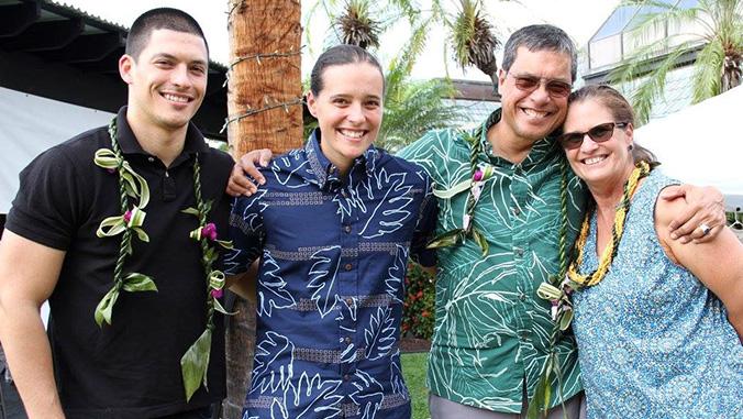 Jon Osorio and family