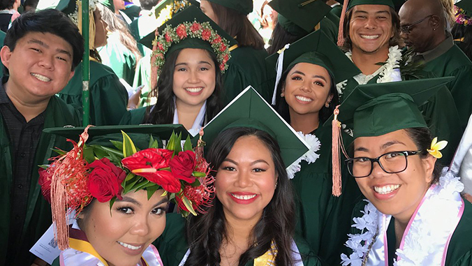 U H Manoa graduates