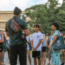 Hundreds of prospective students 'Explore Mānoa'