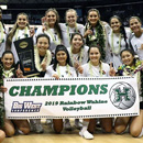 UH women's volleyball team wins Big West Conference title