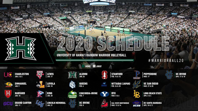 men's volleyball schedule
