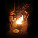 Raku pottery works highlighted in Gallery 'Iolani exhibit