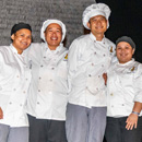 Hawai'i CC–Pālamanui culinary arts students receive scholarships at event