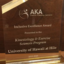 UH Hilo KES department honored for commitment to inclusiveness