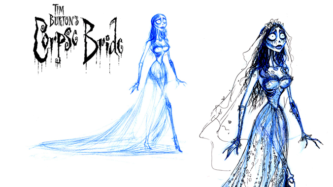 Animated image of the Corpse Bride