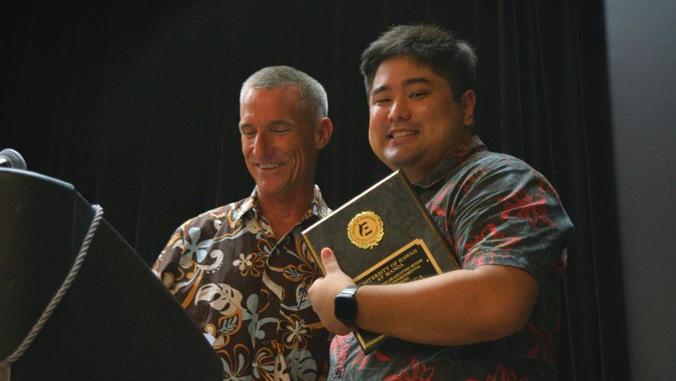 Maxx Taga wins award