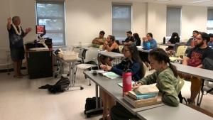 Ito teaching class